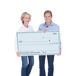 Utah Salt Lake Big Check Printing