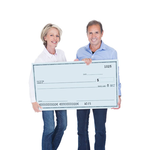 Boston Big Check Printing